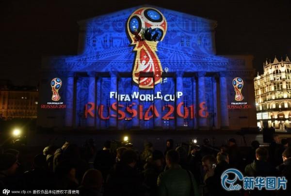 莫斯科:2018世界杯会徽揭晓