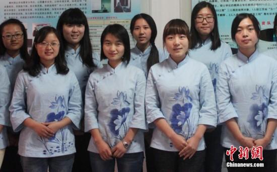设女子学堂 着民国服饰上课图片