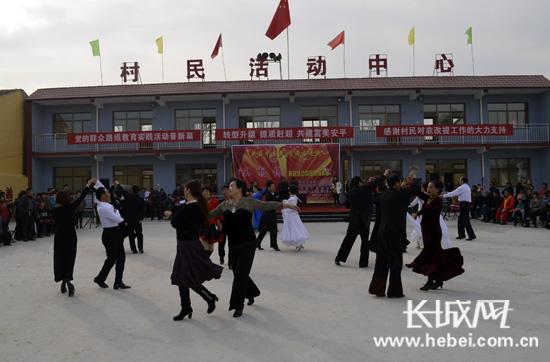 """安平:王胡林村民有了文化活动""""一亩三分地""""图片"""