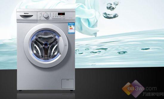 这款海尔XQG70-1000J全自动滚筒洗衣机采用海尔一体式面板,一体设计台面四面封胶,可以杜绝隐患。海尔工程塑料分配器盒的使用,保证了内壁镜面光滑,易冲洗干净。内筒采用后法兰打孔工艺,让洗涤冲刷力更强,对衣物多角度冲刷,大大提高洗净率。