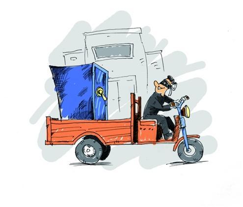 男子为盗保险柜偷三轮车拉走 砸开取钱后扔粪
