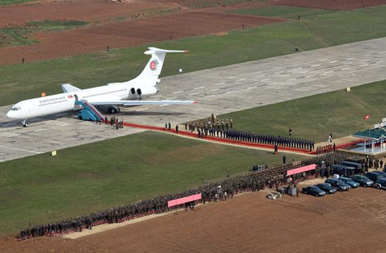 揭秘各国领导人专机 中国专机上下两层 美国专机防核爆图片