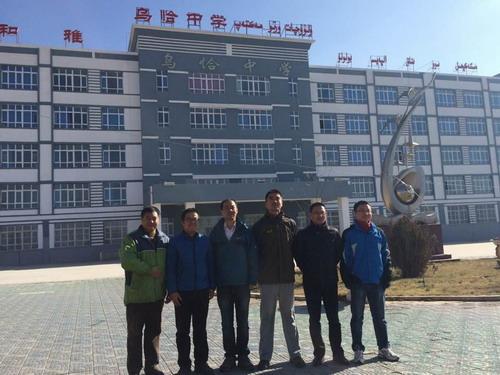 无锡援疆教师在新疆克州开设示范课典奥赛物理题高中图片