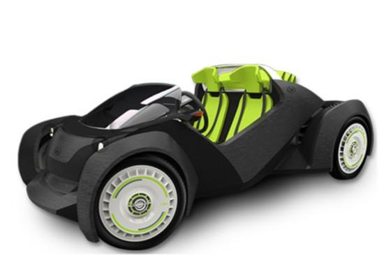 美国公司推出3d打印电动汽车 有望年内开售(图)