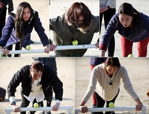 此次出演女兵特辑的嘉宾有演员金智英,朴河宣,姜艺媛,李多喜,李智爱