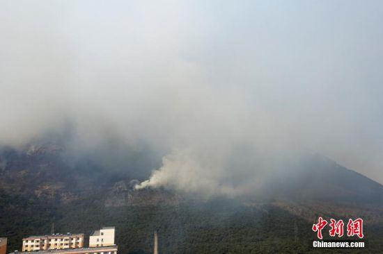 大连 大黑山/大连大黑山景区突发山火,致5名登山者死亡。