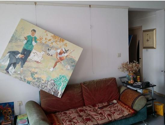 女画家王俊英《四大美女图》等多幅油画被盗图