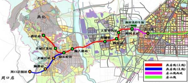北京首条无人驾驶地铁燕房线年底贯通高清图片