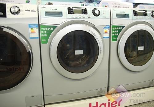 这款海尔xqg70-hb1486洗衣机,集洗衣与烘干于一体,7kg的洗涤容量和