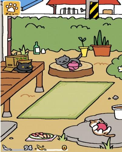 玩家看到的每一只小猫都会记录在收藏册,便于玩家观看.