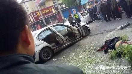安阳街头爆炸监控视频曝光 看看煤气罐威力有