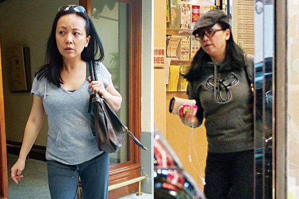 邓萃雯近照-盘点因疾病发胖的女星 萧淑慎戒毒变胖