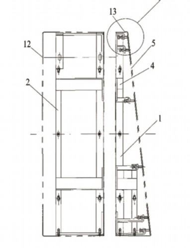 申龙电梯扶梯盖板专利图