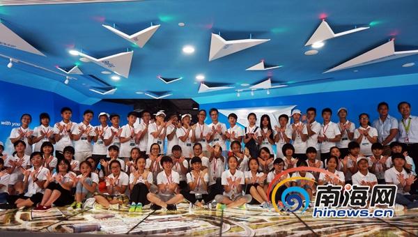 2015国泰及港龙航空青少年航空梦想香港夏令营落幕图片
