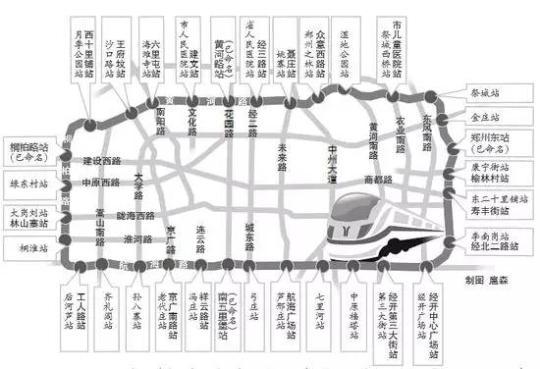 地铁 郑州/郑州地铁5号线28个站点拟定两套命名方案