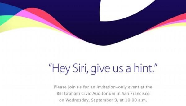 苹果将于9月9日发布新一代iPhone 硬件全面升级