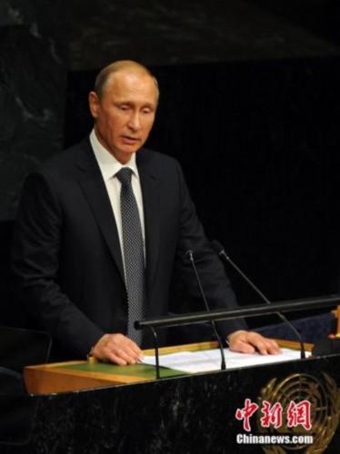 乌总统缺席普京联大演讲 普京:我都没注意到