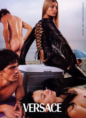 令人着迷的性感 Versace 范思哲 经典广告回顾
