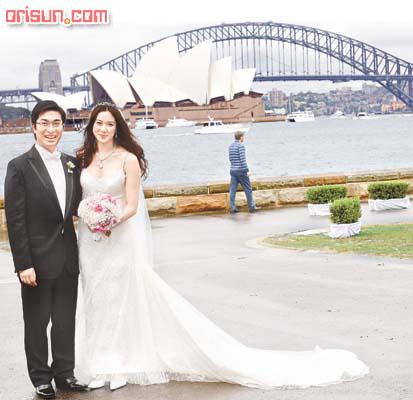 徐子淇李家诚世纪婚礼图片