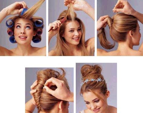 新娘发型,发型设计,新娘发型设计步骤;