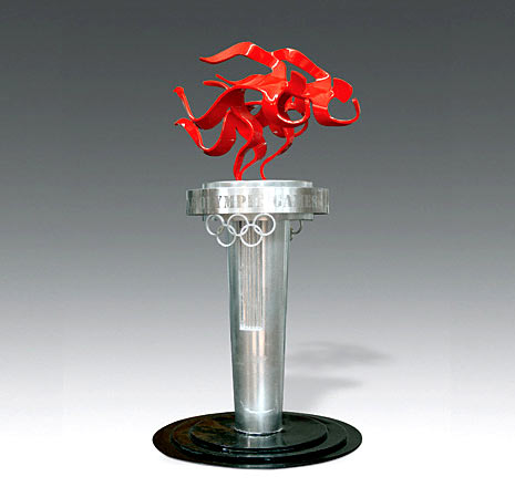 深圳制作《2008奥运景观》 - 天民 - 天民博客