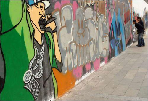 转载:城市建筑的涂鸦艺术
