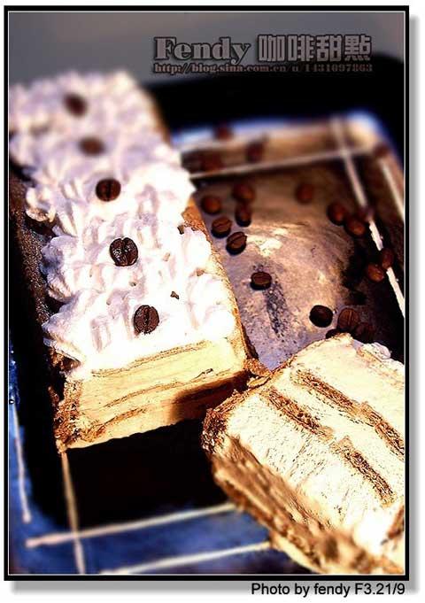 美食diy:咖啡小甜点[图]