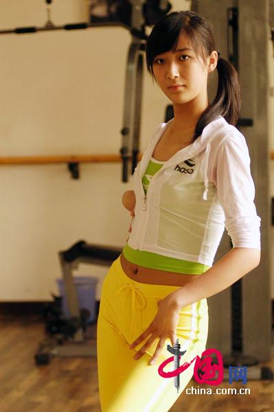 2007年亚洲超级模特大赛中国赛区的30位\