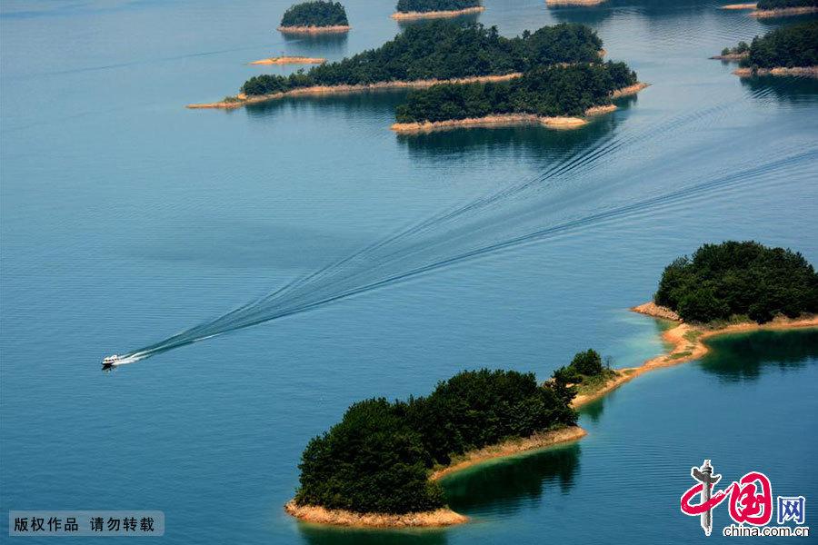 千岛湖风景区风光。中国网图片库 李文明/摄