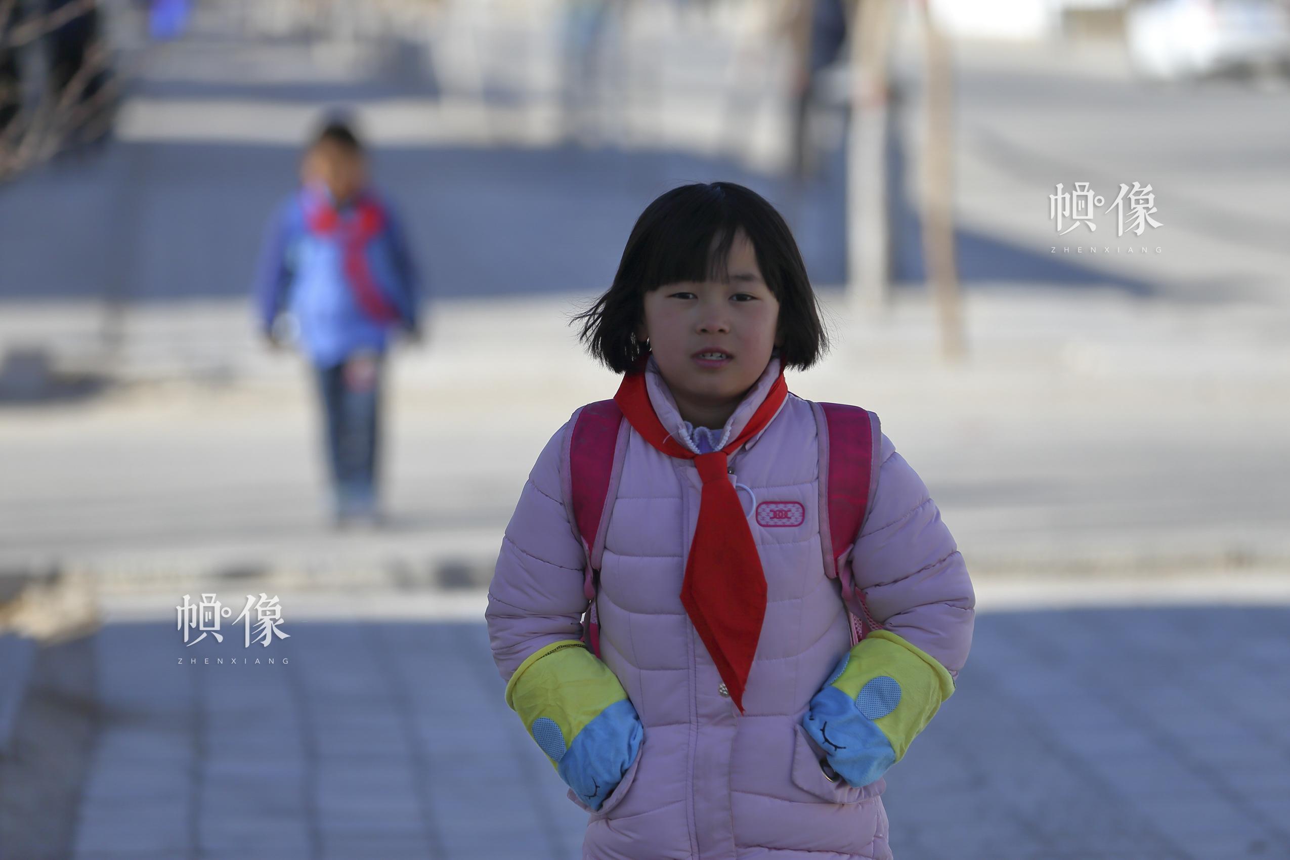 马蓉的家离学校不远,大约走五分钟。中国网记者 陈维松 摄