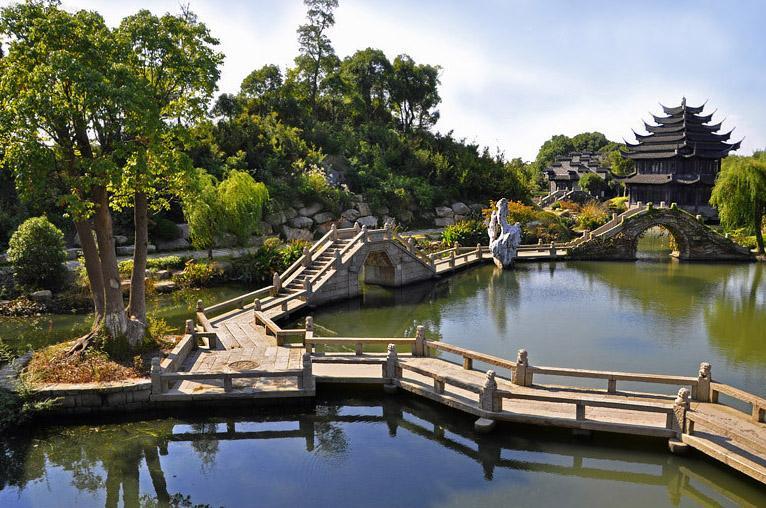 古典园林理水工程 注重自美美与共