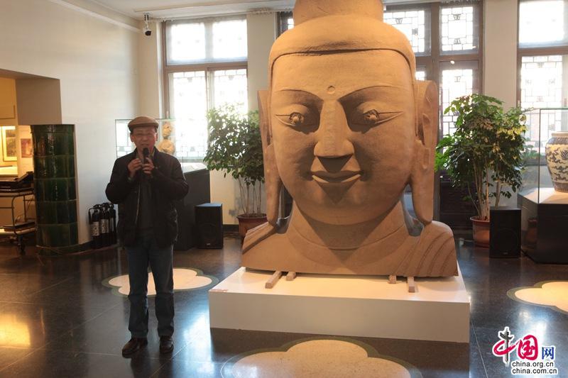 北魏文化走进北大 从壁画和造像感悟另一个世界