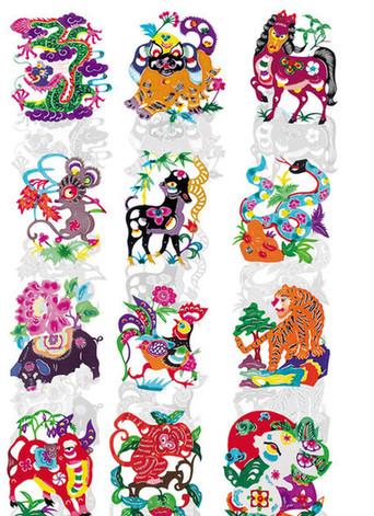 """中国国情  十二种生肖动物,大致可将其分为三类:一类是已被驯化的"""""""