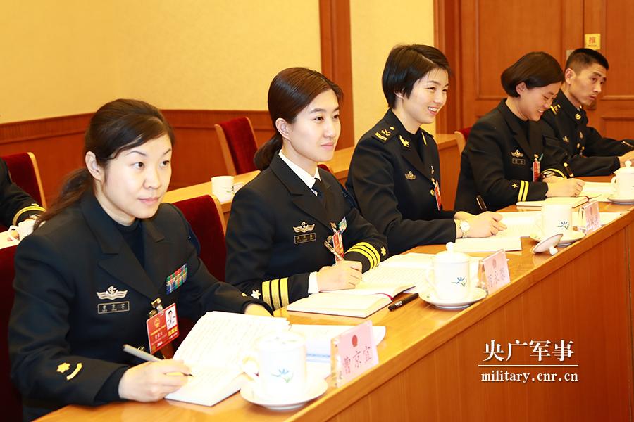 两会特写:走进军队女代表,感受她们的时代风采