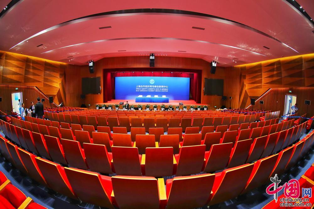 科技创新环保 上海合作组织青岛峰会新闻中心