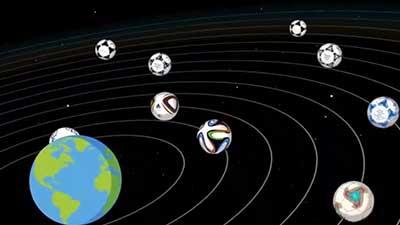 涨知识!4分钟动画带你看完世界杯用球进化史