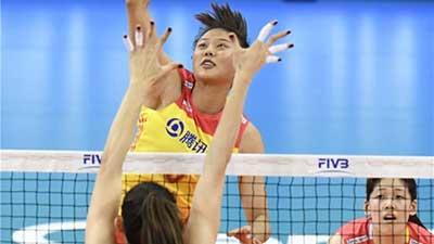 世联赛德国站:中国女排1-3不敌土耳其列第3