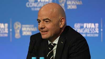国际足联召开第68届大会 因凡蒂诺:明年寻求连任