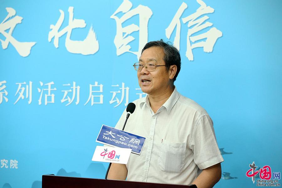全国人大常委、中国社会科学院世界宗教研究所原所长、中国宗教学会会长卓新平