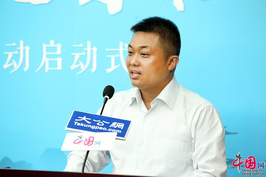 大公宗教文化事业部执行总裁、大公网副总编辑史利伟