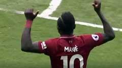 英超:萨拉赫破门马内梅开二度 利物浦4-0西汉姆