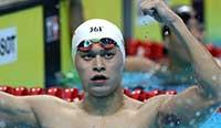 亚运会:孙杨夺800米自由泳冠军 破亚运记录 女子100米世界纪录