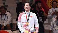 亚运会:周凤称雄摔跤68公斤级 中国摔跤摘首金 巴萨 西甲夺冠
