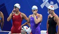 亚运会:女子4×100混中国队因抢跳被取消成绩 亚冠恒大4-2逆转