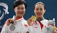 亚运会:中国包揽双多向飞碟金银 李清念夺冠 档案解密乔丹