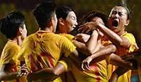 亚运会:中国女足2-0完胜朝鲜 小组赛全胜晋级 费城联合vs新英格兰革命