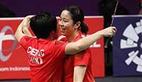 亚运会:陈清晨/贾一凡2-0胜晋级羽球女双决赛 2012nba季后赛