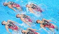 亚运会:花游集体项目四连冠 中国代表团金牌破百 水原三星vs广州恒大