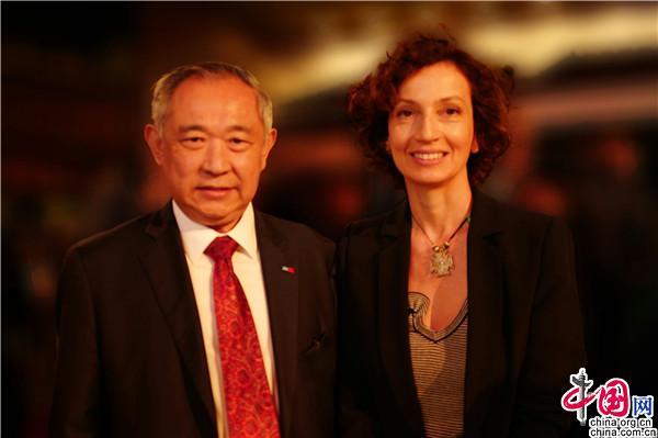 李若弘参加联合国教科文组织合作伙伴论坛
