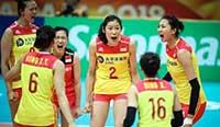女排世锦赛:中国3-0横扫泰国夺第二阶段首胜 英格兰vs意大利